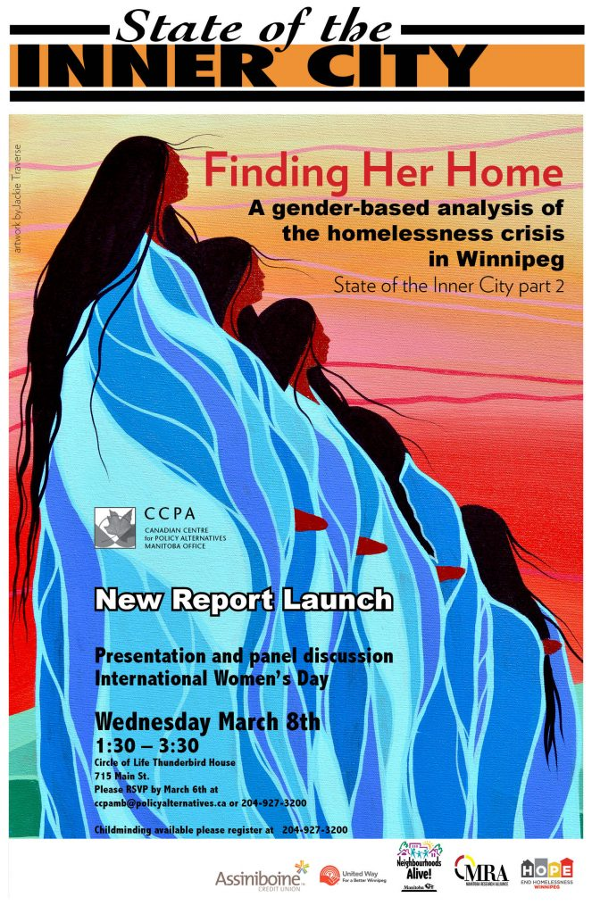 Finding Her Home: A gender-based analysis of the homelessness crisis in Winnipeg @ Thunderbird House