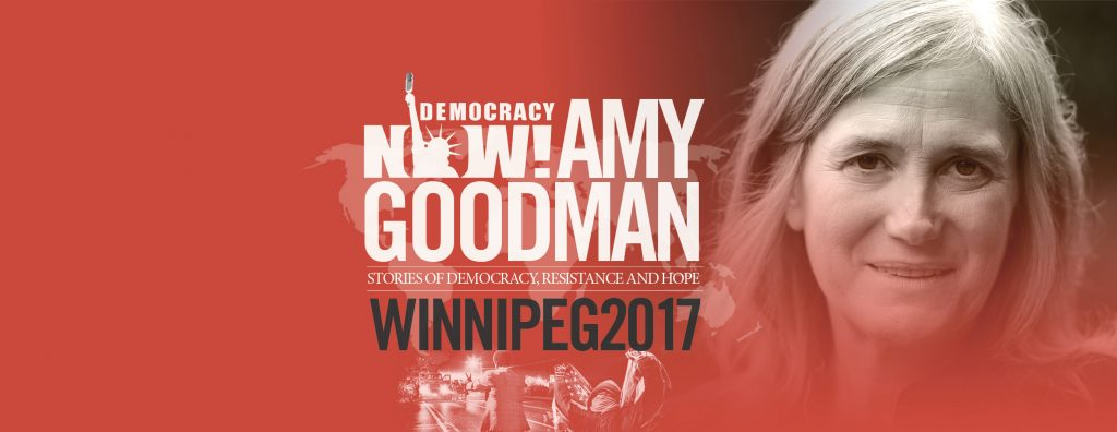 Amy Goodman - Democracy Now! Sept 29 @ Knox United Church