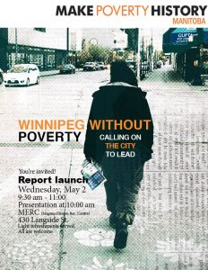 Winnipeg Without Poverty - Report Launch @ Magnus Eliason Rec Centre