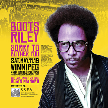 Boots Riley @ Knox United Church