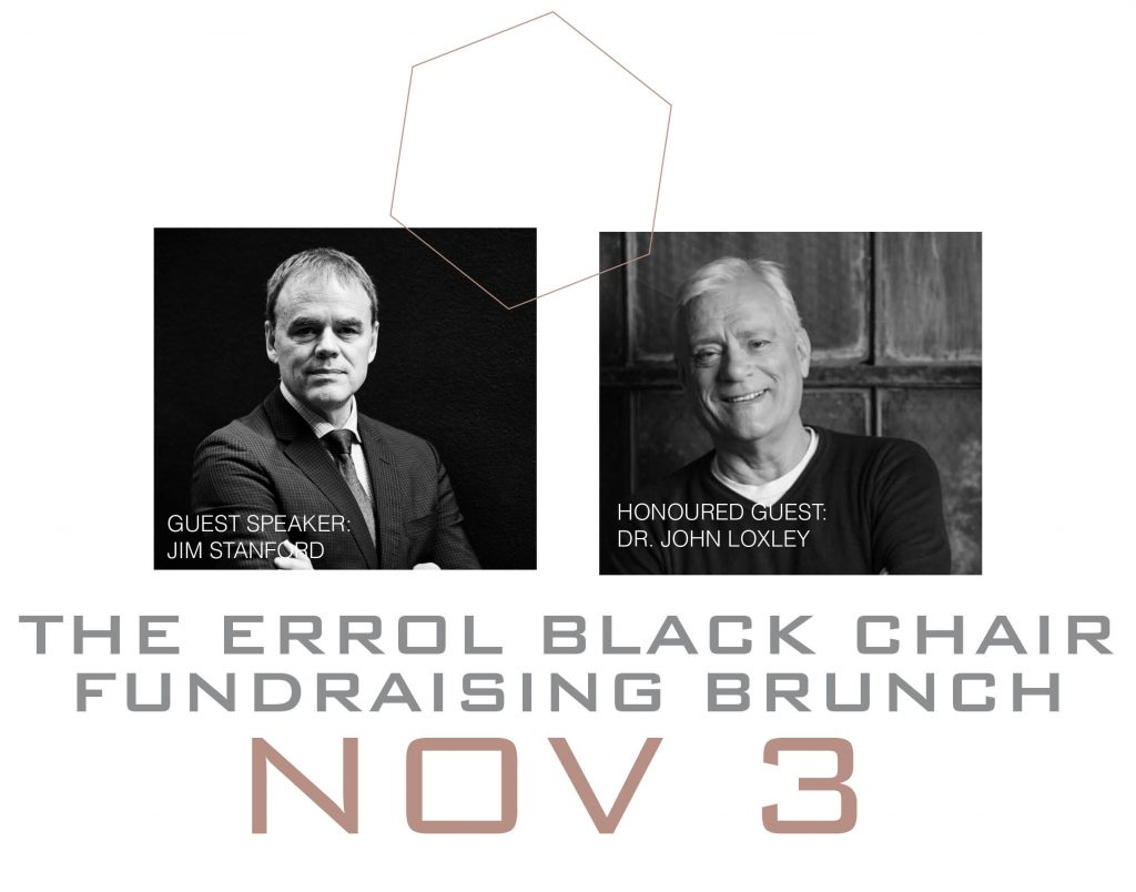 Errol Black Fundraising Brunch with Jim Stanford and John Loxley @ Fort Garry Hotel